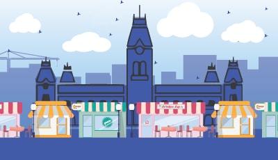 Representation of local business market