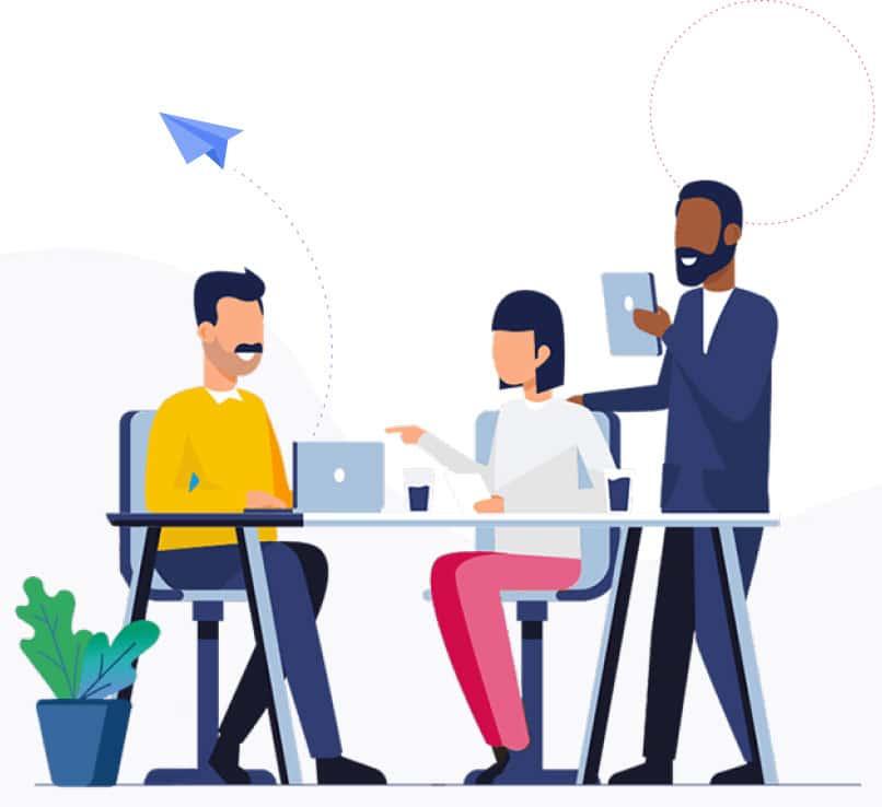 Interpretation of team discussion to design robust website