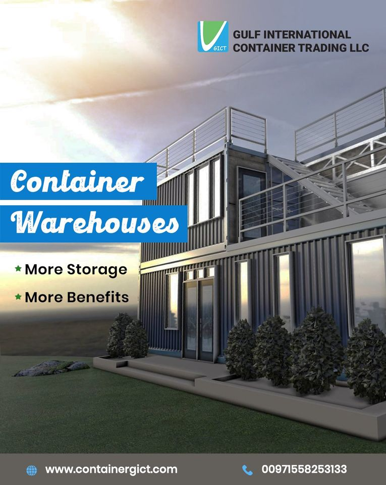 Instagram page1 of a container trading company