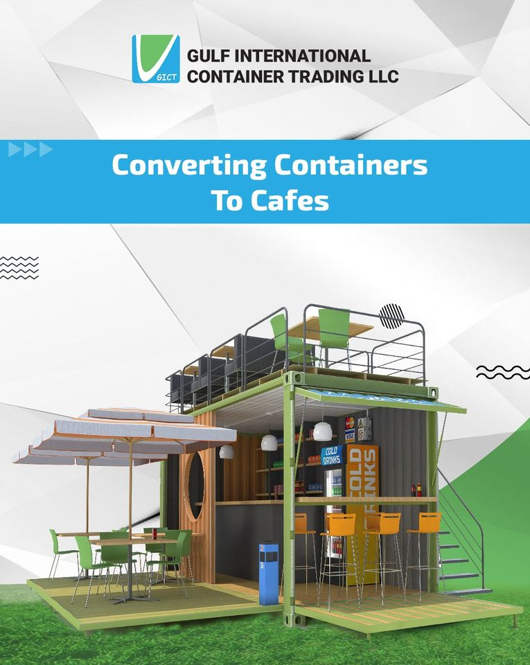 Instagram page3 of a container trading company