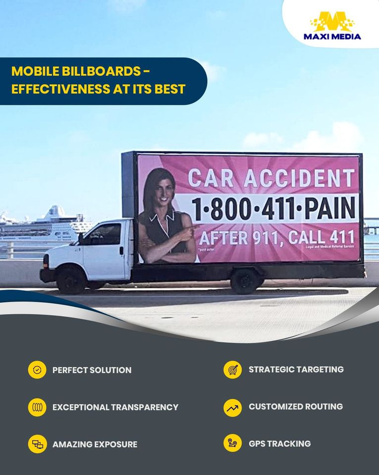 Social Media banner of a billboard company in Las Vegas