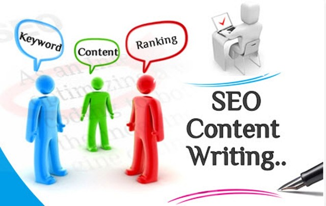 Vector Illustration of content writing services